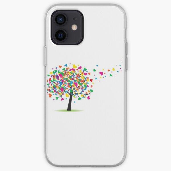 Eco Friendly Love for Tree Funda blanda para iPhone