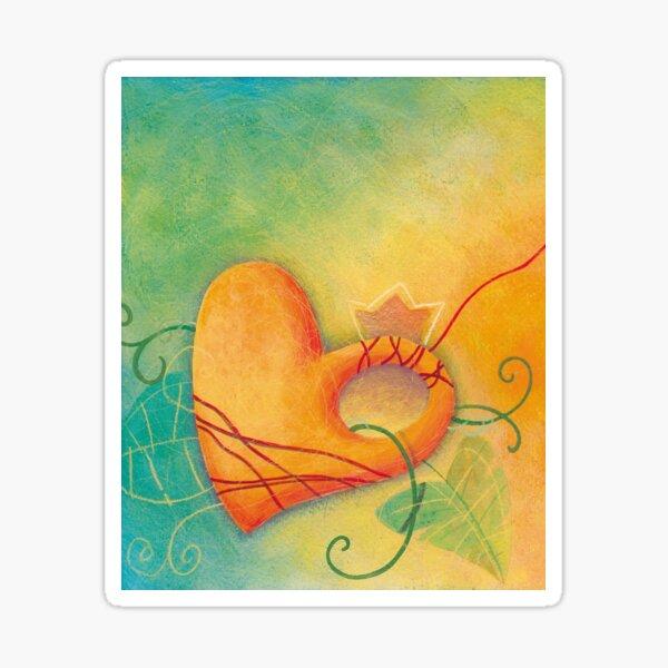 Pumpkin Heart by Edizioni LAlbero Sticker