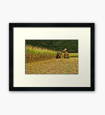 Cane Cutting The Easy Way Framed Print