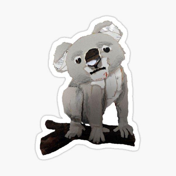 Koala in cardboard Sticker