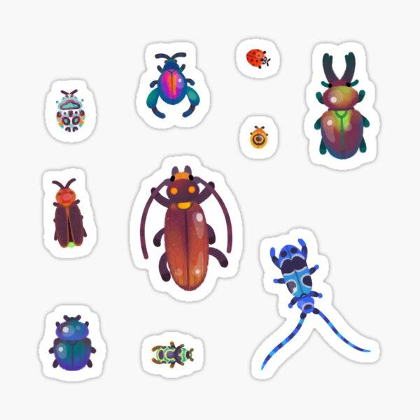 Beetle - pastel Sticker