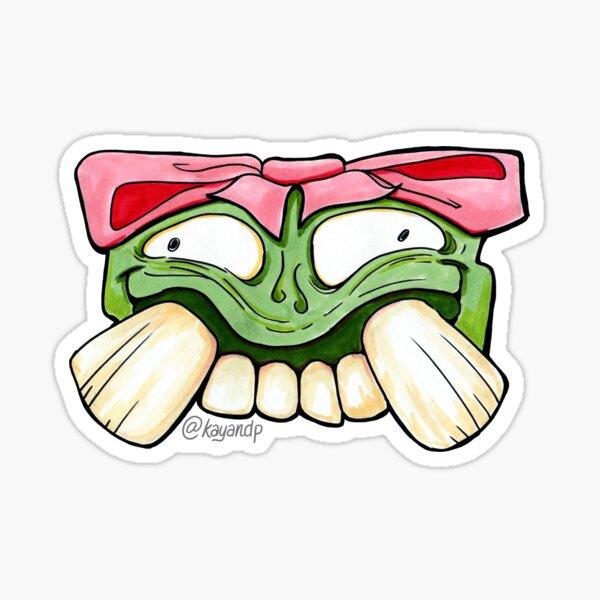 Sally Smiles Sticker