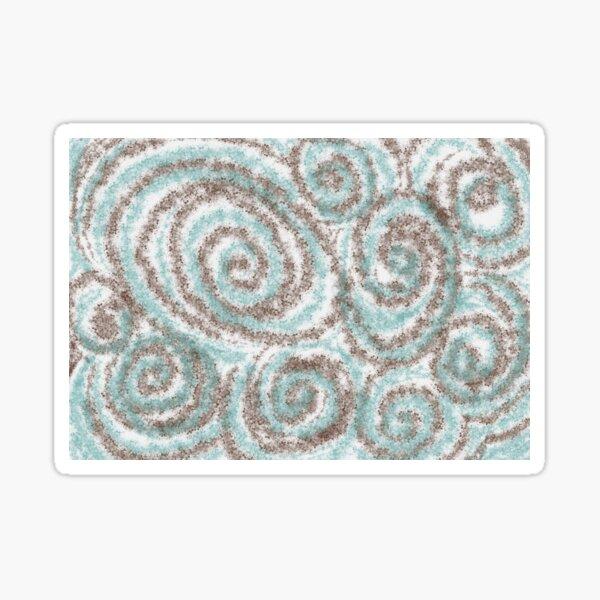 Swirl and Twirl Sticker