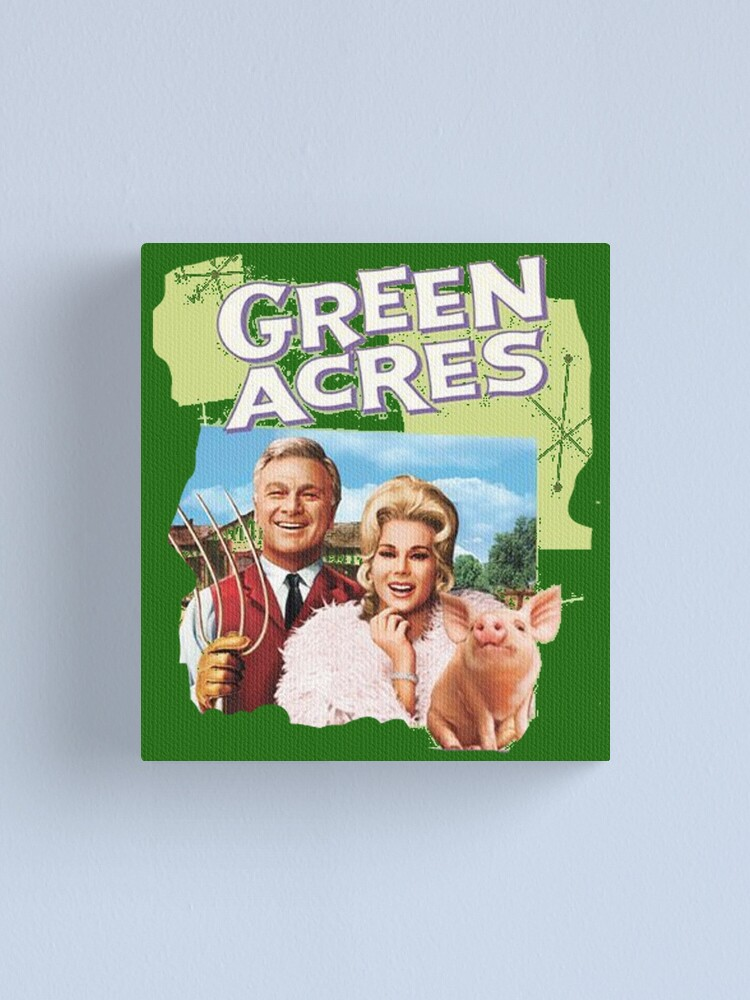 Alternate view of Green Acres Canvas Print