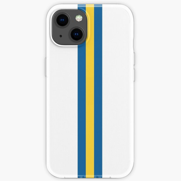 Leeds Utd Stripes iPhone Soft Case