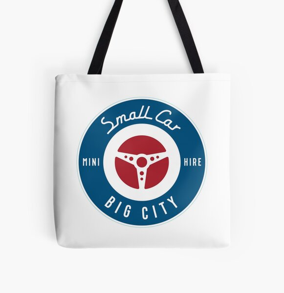 smallcarBIGCITY Roundel  All Over Print Tote Bag