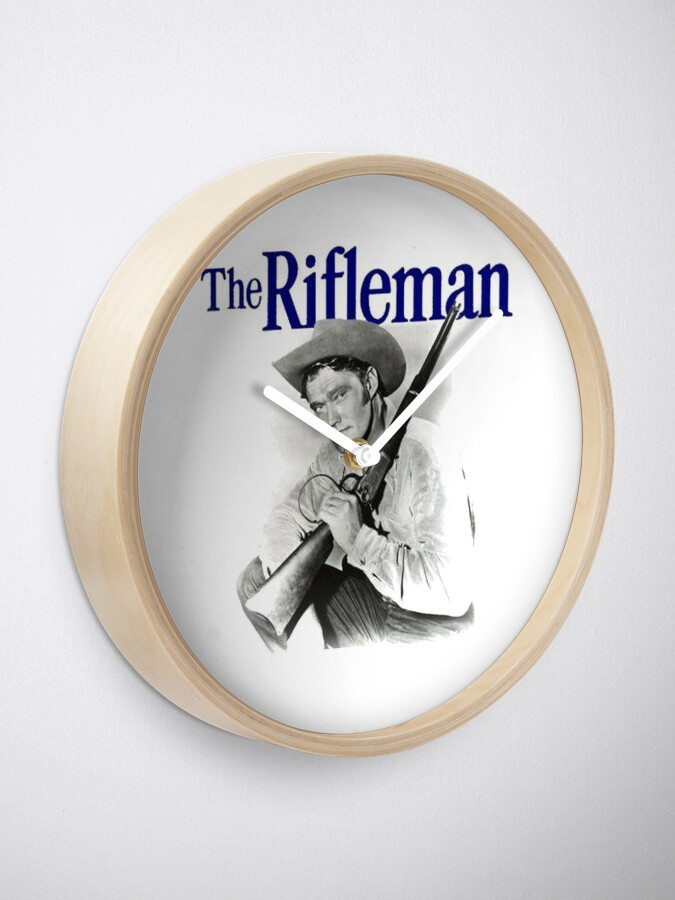Alternate view of The Rifleman Clock