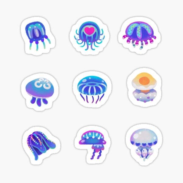 Jellyfish Day - pastel Sticker