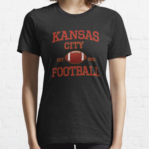 Kansas City Football Classic Distressed Vintage Design Essential T-Shirt