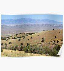 Spring Valley & Kern Mountains Poster