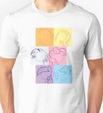 6 Main_squares 1 Unisex T-Shirt