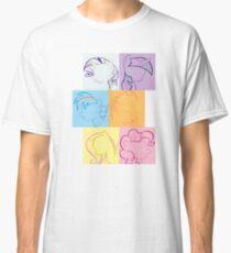 6 Main_squares 2 Classic T-Shirt