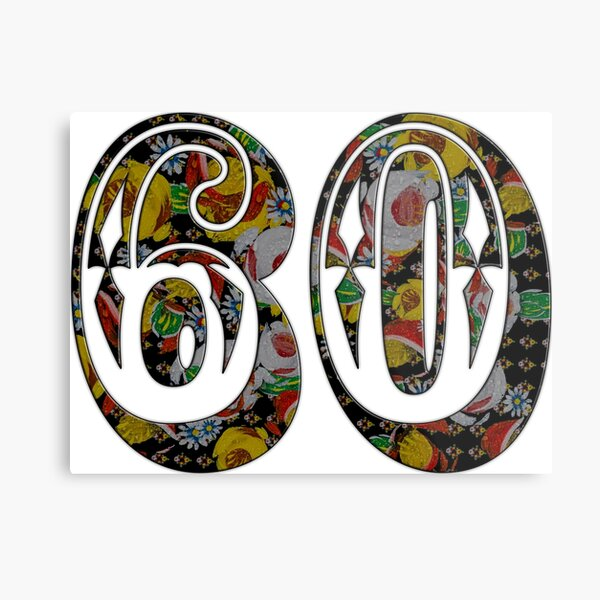 60 from canalsbywhacky Metal Print