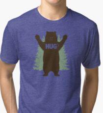 Bear Hug (Light) Tri-blend T-Shirt