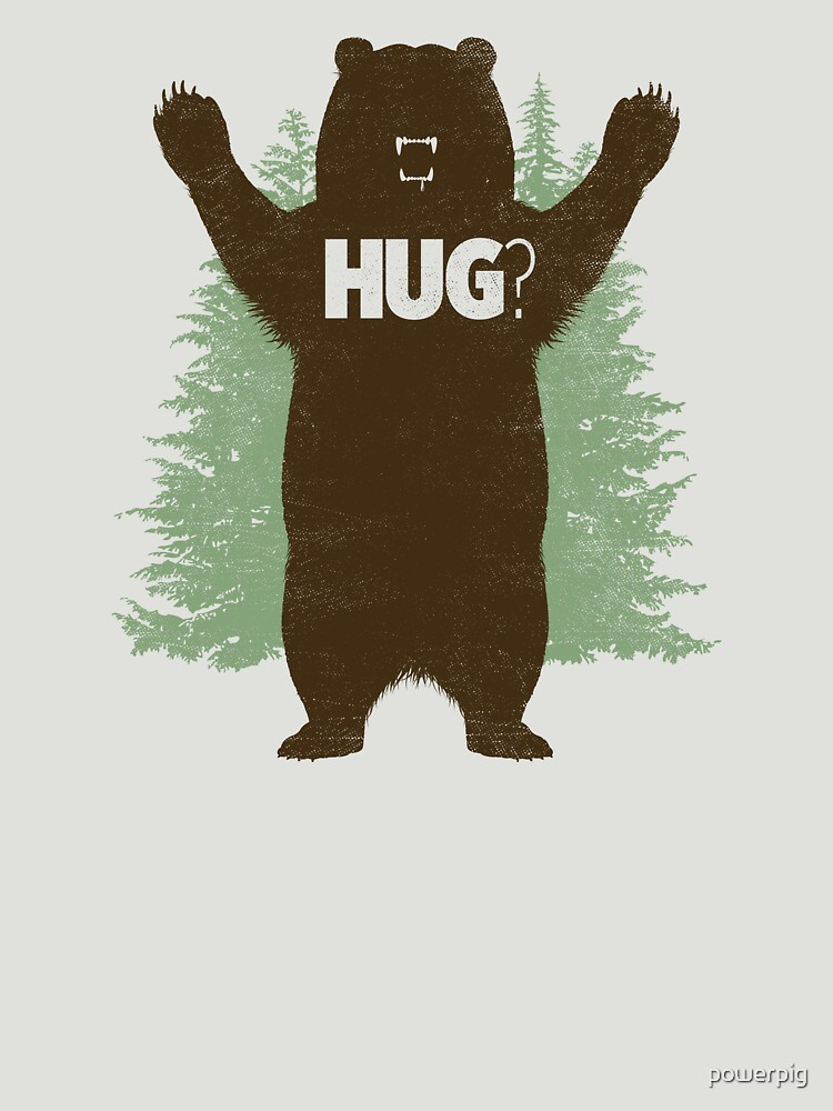Bear Hug (Light)   Unisex T-Shirt