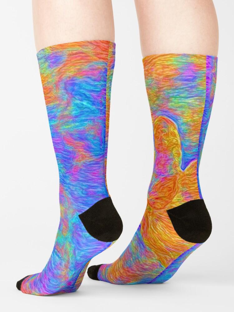 Alternate view of Flower Socks