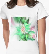 Feathery Utopia Womens Fitted T-Shirt