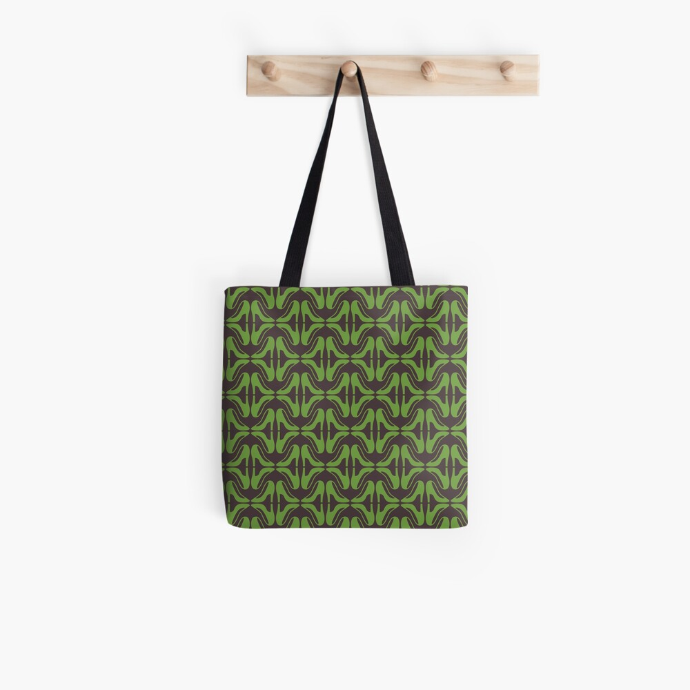 Green shoes Tote Bag