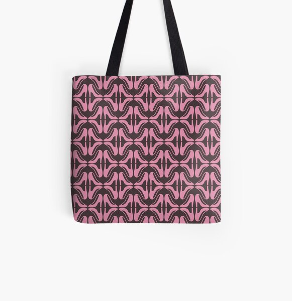Pink shoes All Over Print Tote Bag