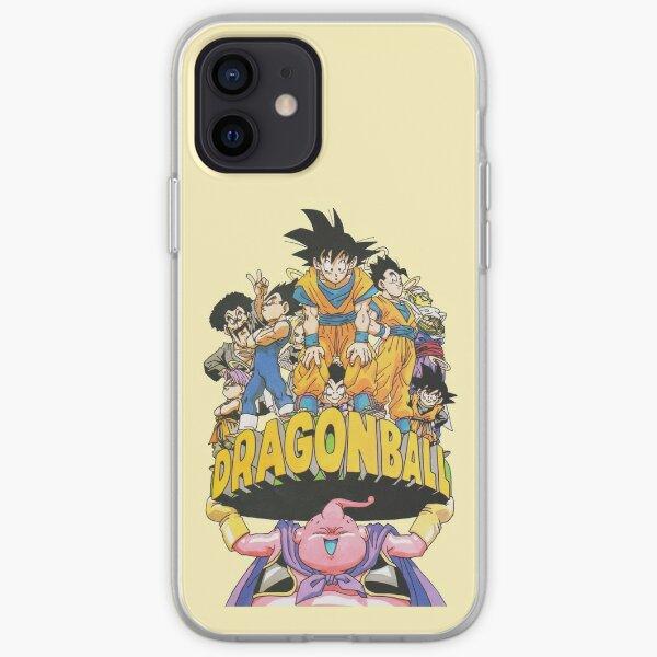 Dragon Ball - Buu World Vintage Coque souple iPhone