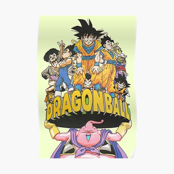 Dragon Ball - Buu World Vintage Poster