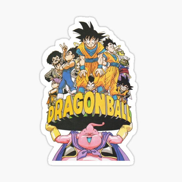 Dragon Ball - Buu World Vintage  Sticker