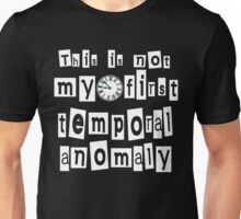 Temporal Anomaly Unisex T-Shirt