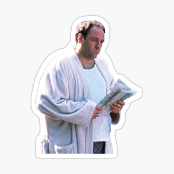 TONY SOPRANO ROBE Sticker