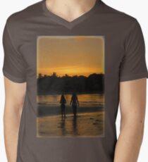 Beach Attractions Men's V-Neck T-Shirt