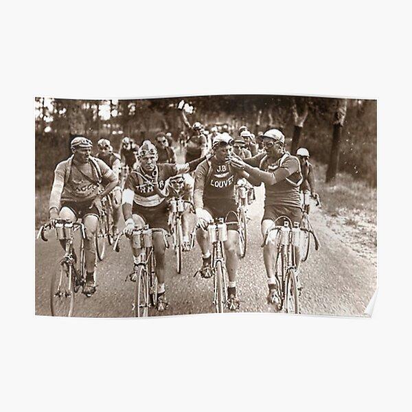 Intimate Portrait of the Tour De France 1920s Poster