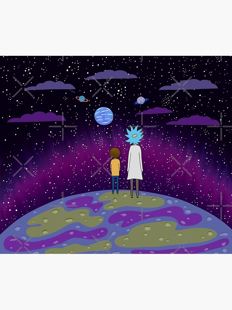 Rick and Morty - Planets by cristinadesign