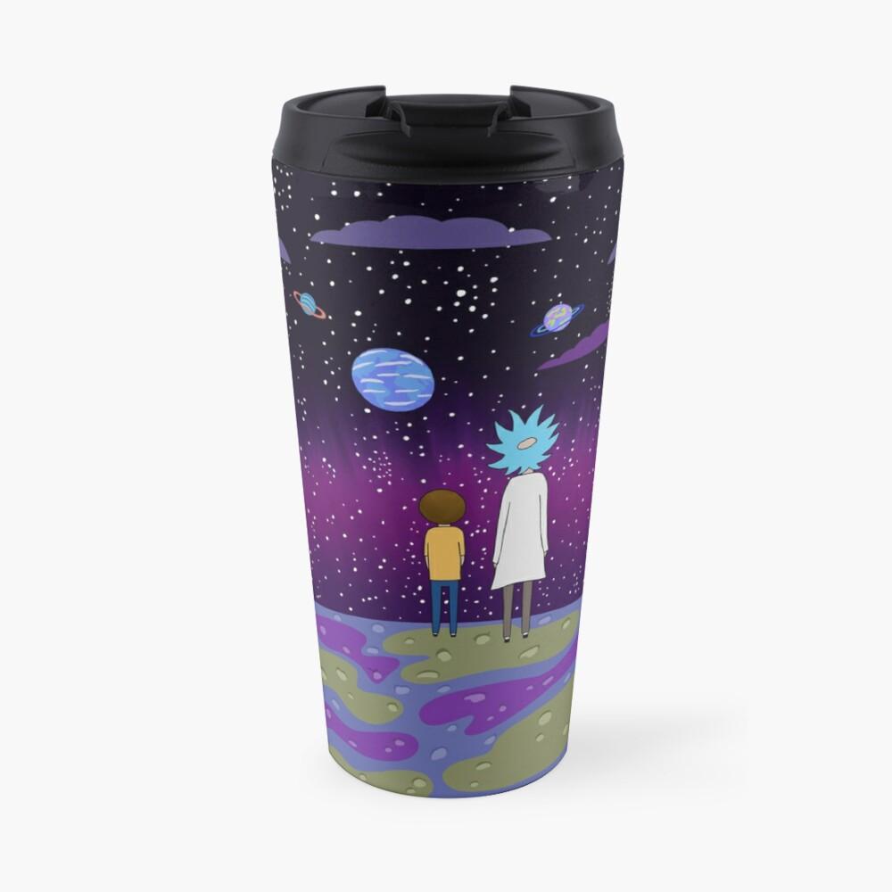 Rick and Morty - Planets Travel Mug