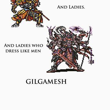 Gilgamesh by bamseyboy