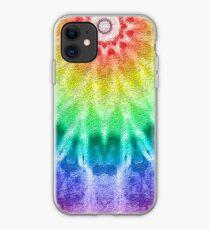 Rainbow Tie Dye 2 iPhone Case