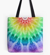 Rainbow Tie Dye 2 Tote Bag