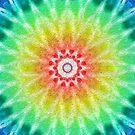Rainbow Tie Dye 2 by technoqueer