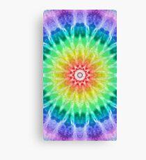Rainbow Tie Dye 2 Canvas Print