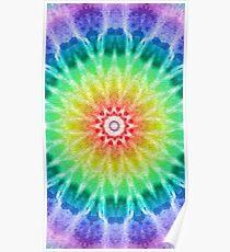 Rainbow Tie Dye 2 Poster
