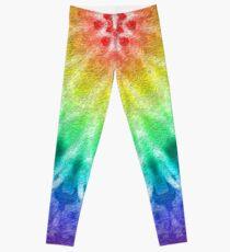 Rainbow Tie Dye 2 Leggings