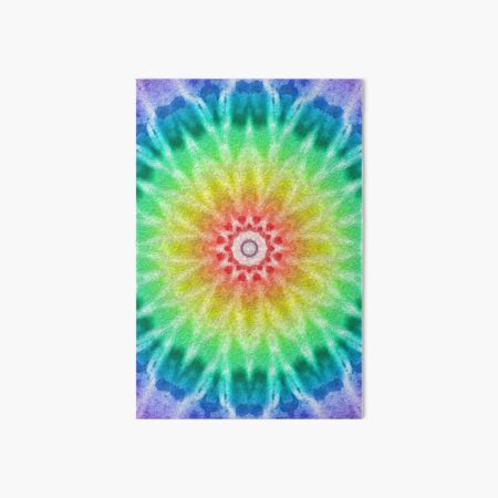 Rainbow Tie Dye 2 Art Board Print