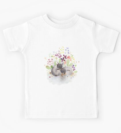 Puppies and flower Kids Clothes