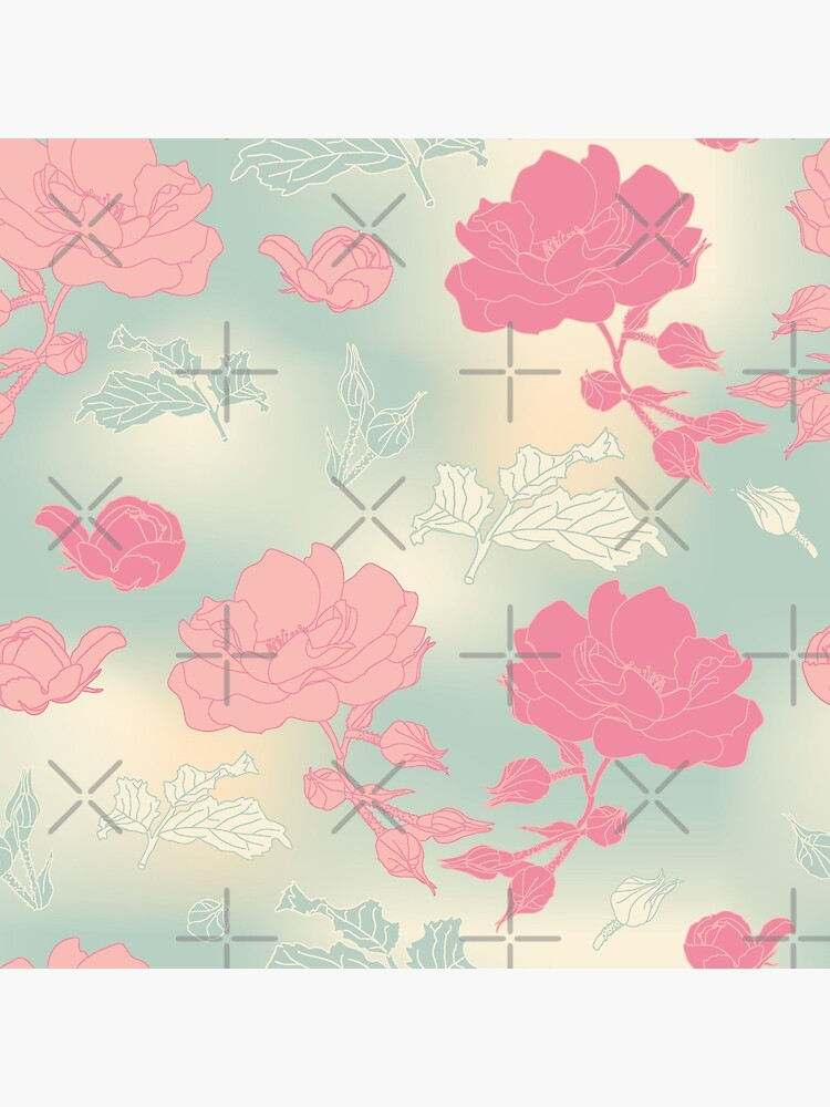 Romance isn't dead vintage kitsch roses by nobelbunt