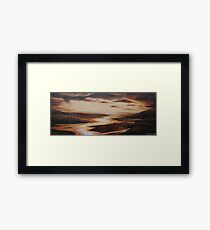 'Golden Glow'  Mawddach Estuary Framed Print