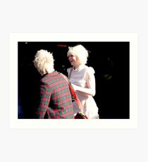 peoplescapes #338, two blonde Art Print