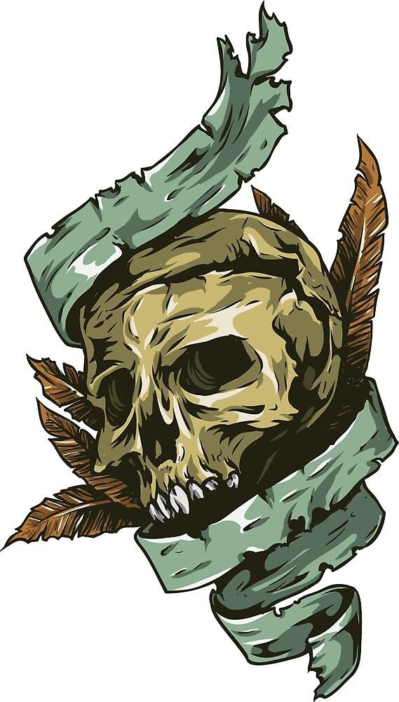Skull by alexrow
