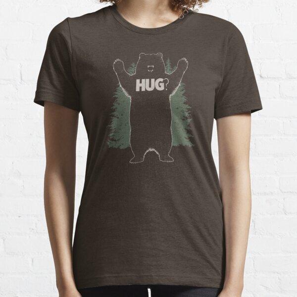 Bear Hug (Dark) T-Shirt  Essential T-Shirt