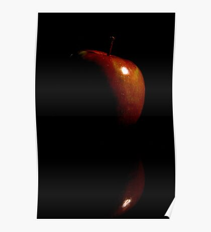 The dark side of the apple. Poster