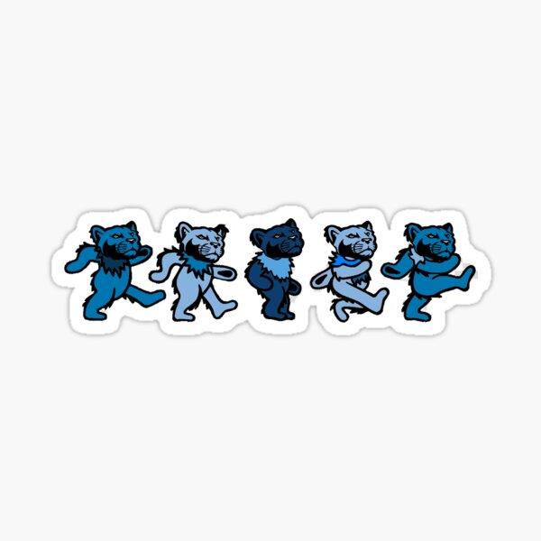 greatful lions Sticker