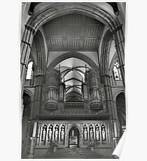 Rochester Cathedral's organ pipes  Poster