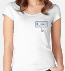 Dislike You Women's Fitted Scoop T-Shirt